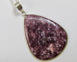 57 Cts Beautiful lepidolite Pendant MJA 904