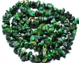 EMERALD NECKLACE WITH CLIP [SJ2674]