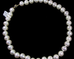 STYLISH 9K GOLD PEARL 12-13 MM NECKLACE GTJA 448