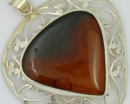 LARGE AGATE PENDANT TOP SB 462