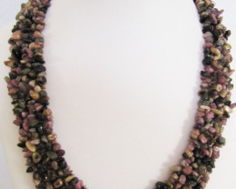 575 Cts stunning Purple Agate necklace MJA 1066