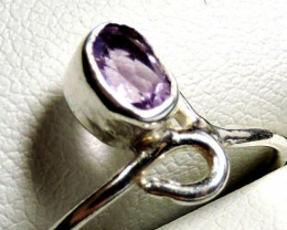 Cute Natural Amethyst Ring Size 9.5 JGG 119