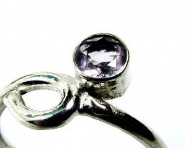 Cute Natural Amethyst Ring Size 8 JGG 118