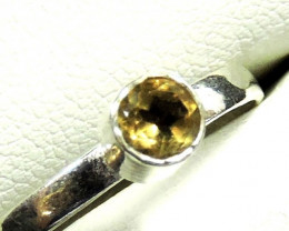 Cute Natural Citrine Ring Size 9 JGG 130
