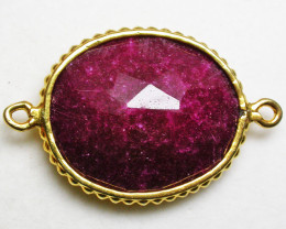 LARGE RUBY-COLOUR ENHANCED /ELECTROPLATED [SJ2544]4