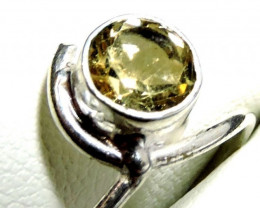 Cute Natural Citrine Ring Size 9 JGG 127