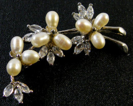 SOUTH CHINA SEAS PEARL PENDANT/BROCHE 53.85 CTS SGS1110
