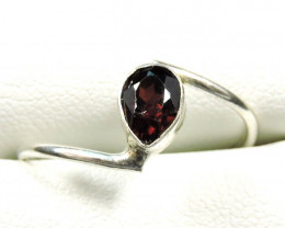 Cute Natural Garnet Ring Size 8.5 JGG 102