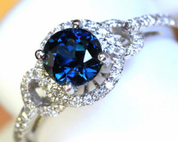 Gold Sapphire Rings