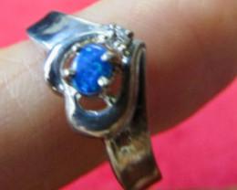 Cute Doublet opal ring Size 8 AGR 738