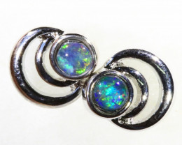 Cute Gem Opal Triplet set in Earring CF1755