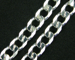 Curb Sterling Silver Chains