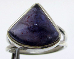 Amethyst in Silver Ring size 7 MJA 517
