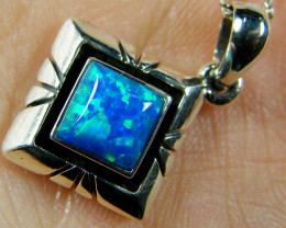 Simulant Jewery NR IMO OPAL STERLING SILVER PENDANT MYT632