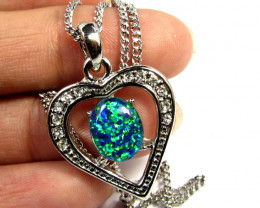Simulant Jewery NR ATTRACTIVE OPAL FASHION PENDANT CSS 179