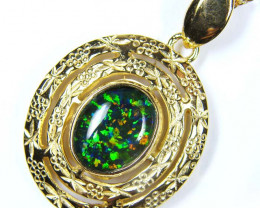 Simulant Jewery NR LARGE  FASHION OPAL PENDANT MYJA 974