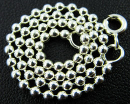 SILVER BRACELET  BALL DESIGN 925 CHAIN 7.INCHES / 19CM CMT 154