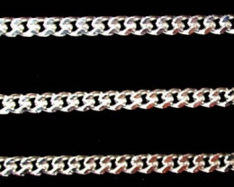 5.6 grams 18K WHITE GOLD CHAIN, 48 CM LONG 5.6 GRAMS L327