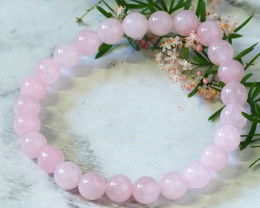 Natural Rose Quartz Bacelet WS259