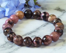 Natural Rhodonite Bracelet WS270