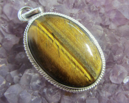 AUSSIE TIGER EYE PENDANT GG 728