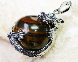 DRAGON BALL TIGER EYE PENDANT BU1134