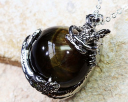 DRAGON BALL TIGER EYE PENDANT BU1133