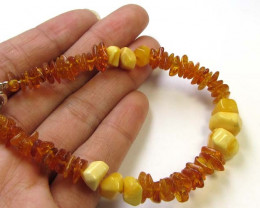 29 CTS NATURAL BALTIC AMBER BRACELET MGMG200
