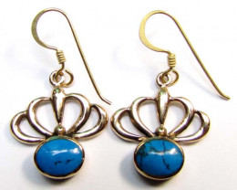 HOWLITE BRONZE EARRINGS RT 266