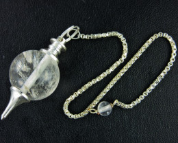 NATURAL CRYSTAL PENDULUM BU 652