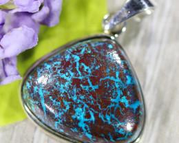 Beautiful natural Pendant , Chrysocolla from Arizona SU696
