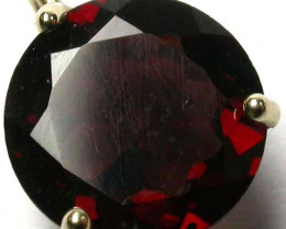 EXCLUSIVE GARNET 10KT YELLOW GOLD PENDANT 3.25 CTS GTJA319
