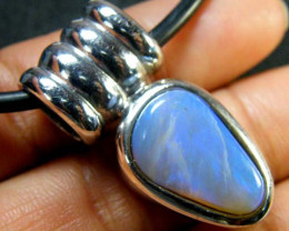 HAND MADE BEZZEL CRYSTAL OPAL PENDANT MY 664