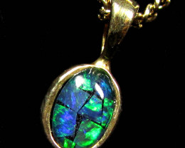 MOSAIC TRIPLET SILVER PENDANT 0.60 CTS MYG 1281