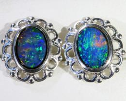 Gem Opal Triplet Earring SB 219