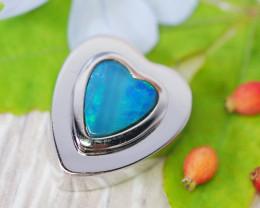 Cute Doublet Opal set in Silver Pendant SU614