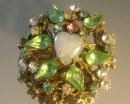 ANTIQUE / VINTAGE BROOCH / PIN BEAUTIFUL GEM