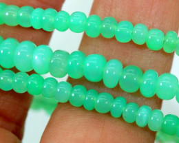 64.55CTSGemstone Necklace CHRYSOPRASE TBG-2461