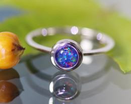 Cute Triplet Opal Rings SU 594