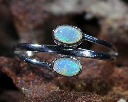 Cute Solid Crystal Opal Rings SU 1479