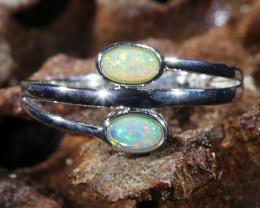 Cute Solid Crystal Opal Rings SU 597