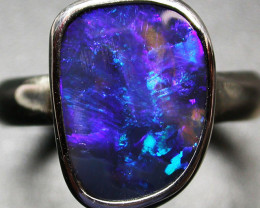 6.5 RING SIZE SOLID OPAL FACTORY DIRECT [SOJ2039]