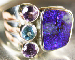 BOULDER/GEMSTONE RING SIZE 6.5 [SOJ670]