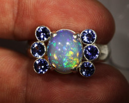 9 SIZE STUNNING WELO WITH 6 TANZANITES FACTORY [SOJ3152]