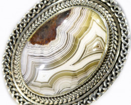 8.5 SIZE LAUGUNA LACE AGATE -FACTORY DIRECT [SJ4637]