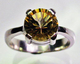 8 RING SIZE GOLDEN MYSTIC QUARTZ [SJ2327]SH