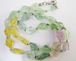 115 Cts Ancient roman Glas Necklace mja1083