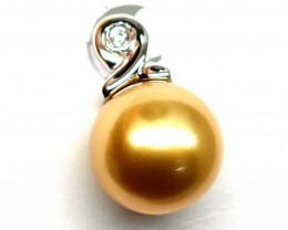 PACIFIC PEARL GOLD WITH DIAMOND 10.90 CTS TBJ- GC