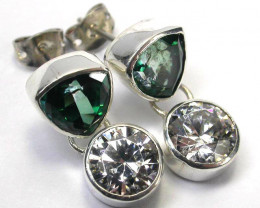 EARRING GEMSTONES-DIRECT FROM FACTORY 30.90 CTS [SJR33]