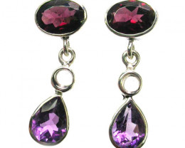 EARRING GEMSTONES-DIRECT FROM FACTORY 15.25 CTS [SJR3]